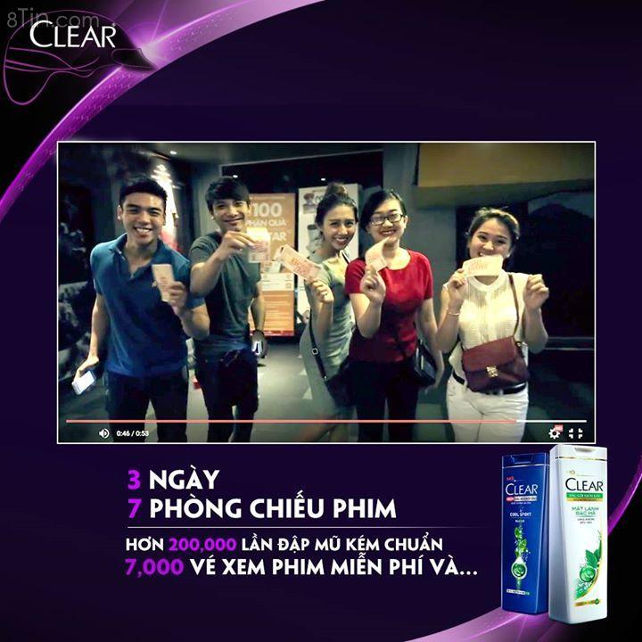 Cùng click xem #ClearVietnam với thử thách đập mũ kém chuẩn đã