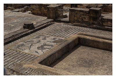 Volubilis - Ein weiteres Mosaik in einer römischen Villa