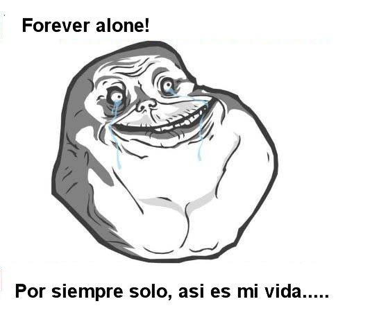 Forever Alone para Facebook