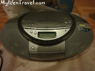 Sony CD player S350 15