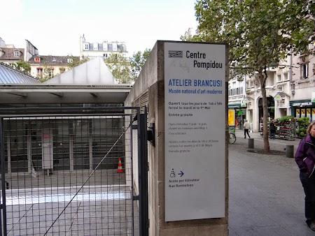 Obiective turistice Franta: Atelier Brancusi