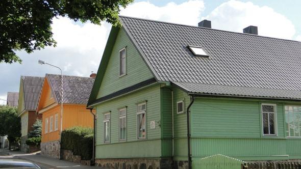 Casas caraítas em Trakai