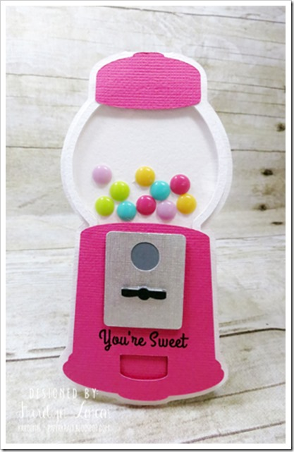 Round 4 Ten Embellishments Gumball Card