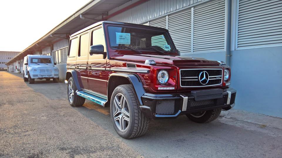 xe Mercedes Benz G63 AMG All New màu đỏ 09