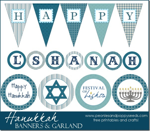 hanukkah banner and garland copy