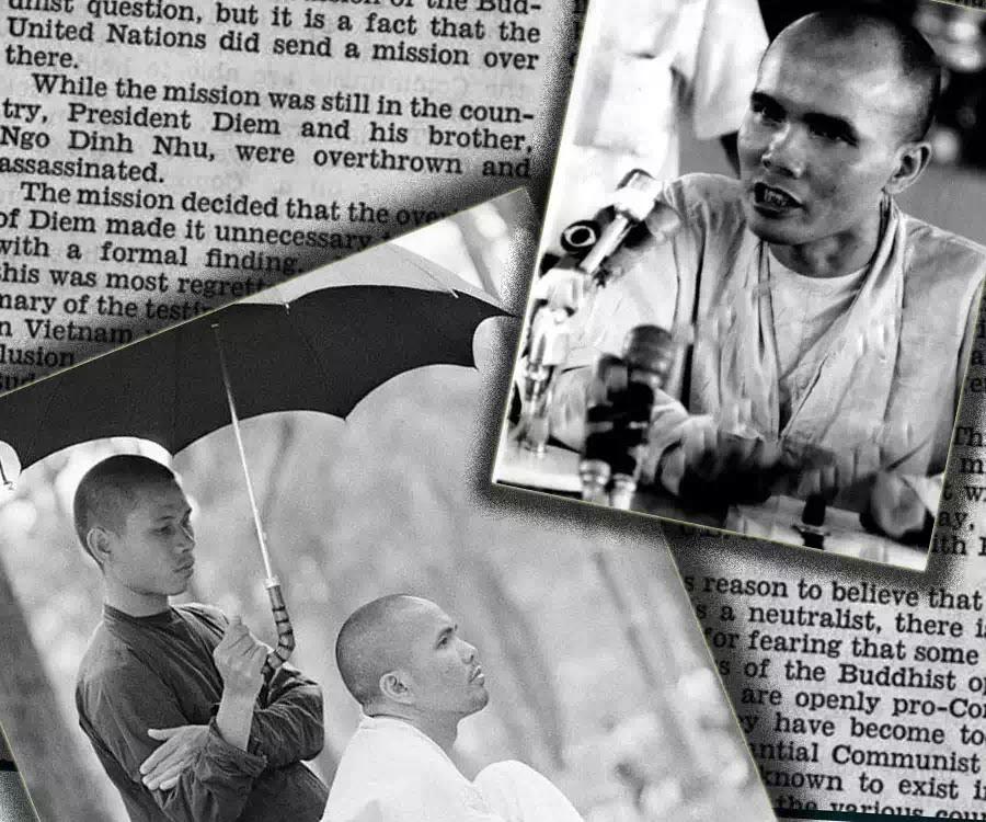 """""""Ngụy biện về Phật giáo đấu tranh"""" - thượng nghĩ sĩ Thomas J. Dodd (1907-1971)"""