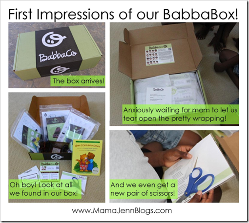 BabbaBox: Activity Box for Kids