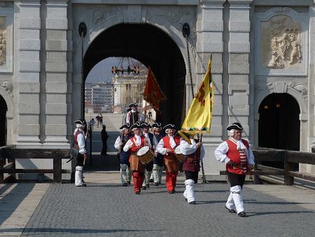 Ceremonial Romania: schimbare garda Alba Iulia