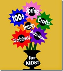 100 Spring Crafts & Kids Activities