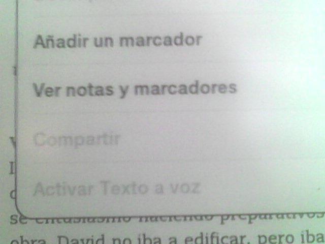 kindle de texto a voz en español