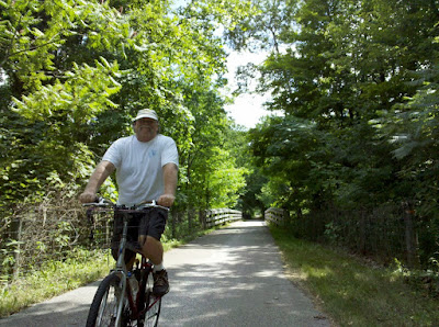 Jim on the Greenway Trail