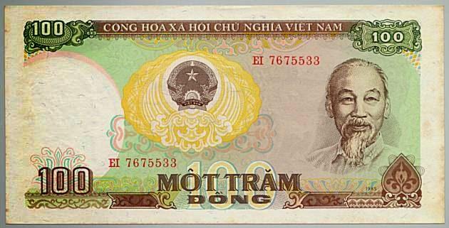 Tờ 100 Đồng Việt Nam Năm 1985