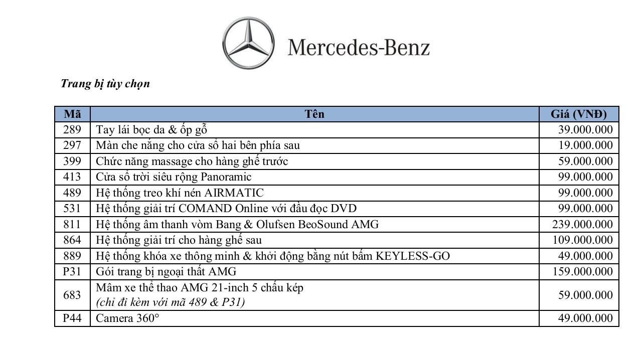 Thông số kỹ thuật xe Mercedes GLE 400 Exclusive 03