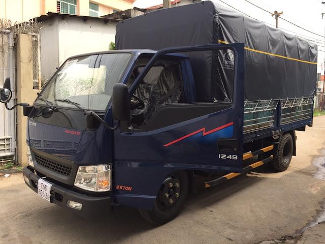 Xe tải IZ49 Đô Thành thùng bạt