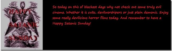 happy satanic sundays