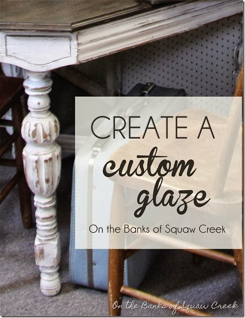 31 Days Of Decorating With Junk Making A Custom Glaze With