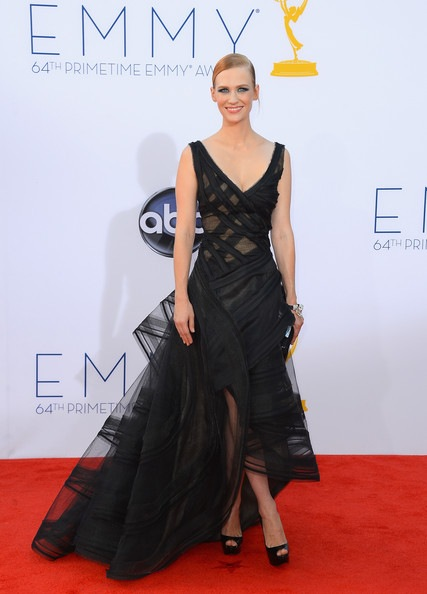 January Jones 64th Annual Primetime Emmy Awards