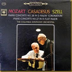 Mozart 27 Casadesus Szell