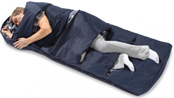 zippered-vent-sleeping-bag