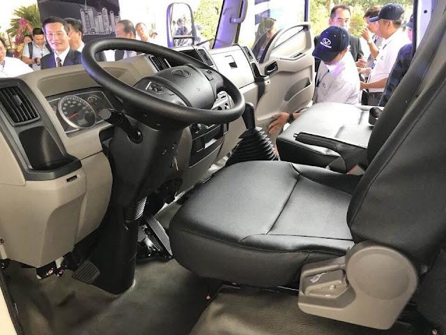 Nội thất xe ô tô IZ65s thùng đông lạnh nhiều ưu điểm vượt trội