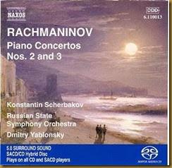 Rachmaninov Conciertos piano 2 3 Scherbakov Yablonsky