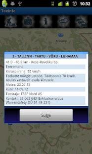 Teeinfo- screenshot thumbnail