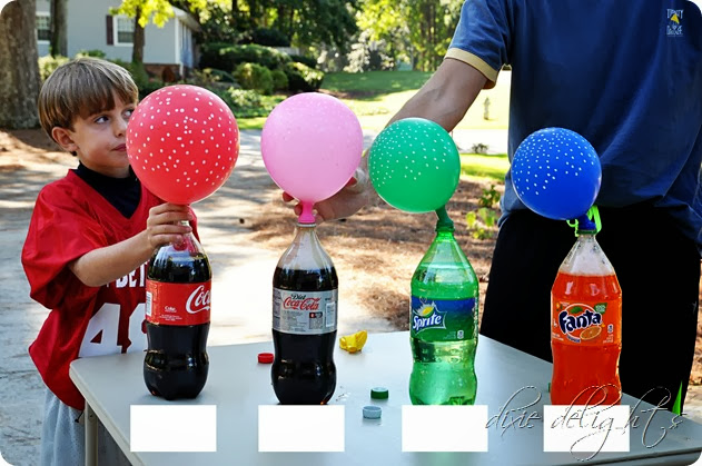 diet coke and mentos science project The mentos will cause a great explosion due to the reaction in the ingredients the coke will have the greatest explosion because of the high level of co2 gas contained in it.