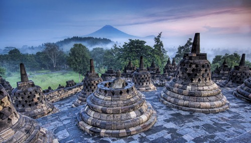 Wonderful Borobudur Temple