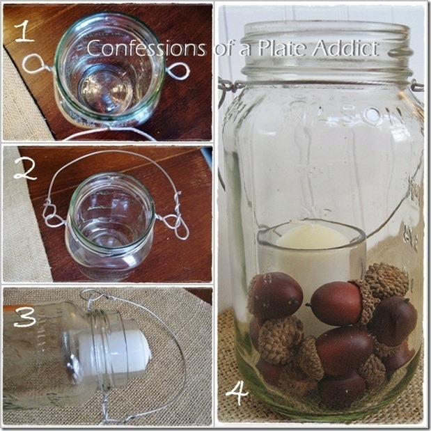 CONFESSIONS OF A PLATE ADDICT Mason Jar Candle Tutorial