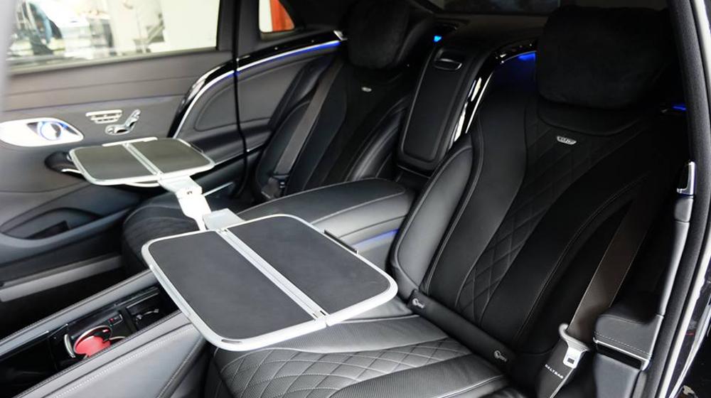 Nội Thất Xe Mercedes Benz S600 MAYBACH Màu Đen 024