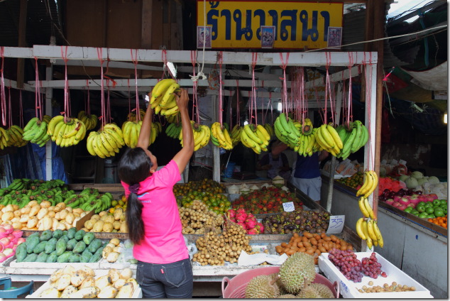 Fruit market at Ko Phi Phi