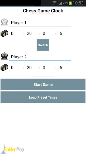 Chess Game Clock Free