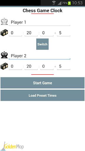 Chess Game Clock Free
