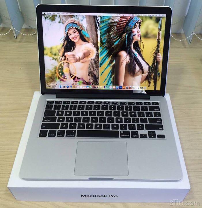 Bán dùm Em gái thổ dân xinh đẹp 2 cái Macbook ME866