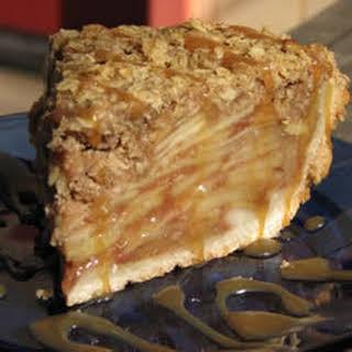 Dutch Apple Pie with Oatmeal Streusel.