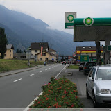 Grenzübergang Müstair, Blickrichtung Italien