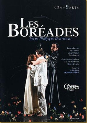 Rameau Les Boreades Christie DVD