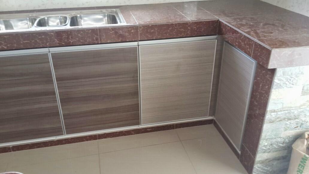 Alhamdulillah Beliau Tertarik Dgn Tawaran Harga Kami Maka Bermula La Satu Lagi Pemasangan Kabinet Dapur