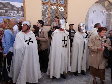 31. Cavaleri medievali in Brasov.JPG