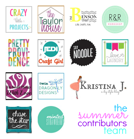the summer contributors team at gingersnapcrafts.com