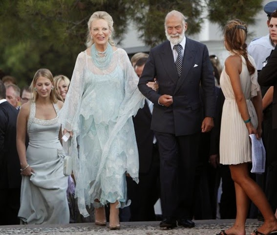 Los Príncipes de Kent, Michael, y su hija Lady Gabriella Windsor,