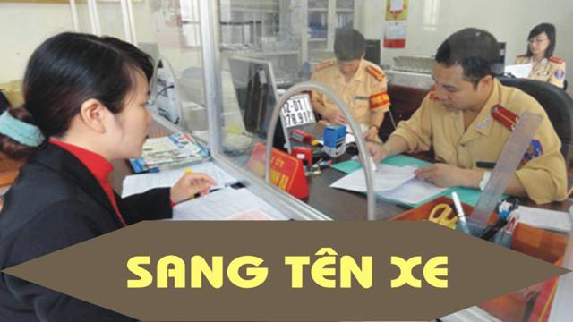 Dịch vụ sang tên đổi chủ xe ô tô tại Hà Nội