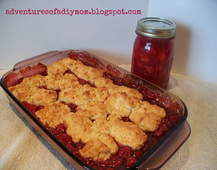 Cherry Cobbler and Cherry Pie FIlling