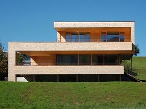 casa moderna en alberschwende k m architektur