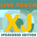 Live Touch XJ Sponsored mp3 logo