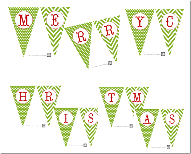 517 creations 31 days of warming up to the holidays day 27 merry christmas printable banner 517 creations blogger