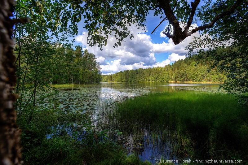 Finland lake view