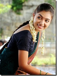 Actress Nazriya Nazim in Naiyaandi Tamil Movie Stills