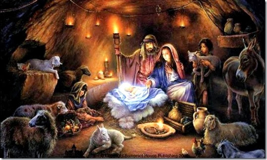 Birth of Christ - Nativity Scene