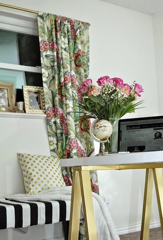 Monica Wants It: Home Office Makeover Sneak Peek